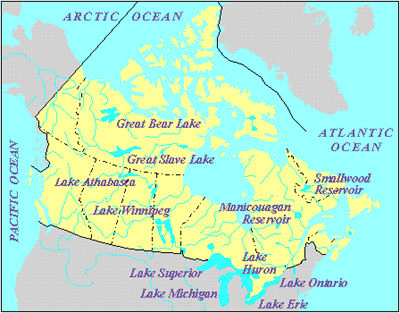 Great Bear Lake The Canadian Encyclopedia