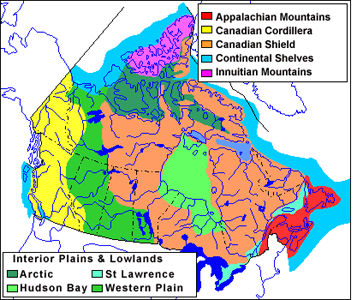Canadian Shield... Appalachian Mountains Facts About Its History